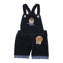 Jardineira Jeans para Beb� Menino 9060