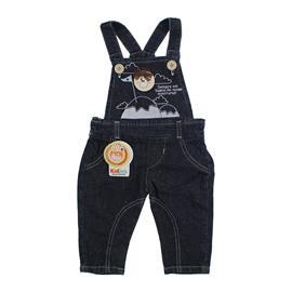 Jardineira Jeans para Beb� Aventuras