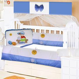 Kit Berço para Bebê 9 Peças Menino Jogador 8705