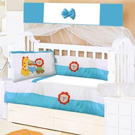 Kit Berço para Bebê ABC 9 Peças 8744