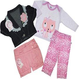 Kit Infantil para Menina em Oferta - cod. 6974