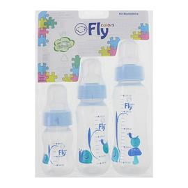 Kit Mamadeira Ortod�ntica Fly Colors 3 un - 8882