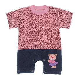 Macacão de Bebê Menina Estampado
