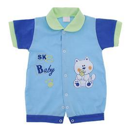Macac�o Curto Beb� Masculino SK Baby - 9834