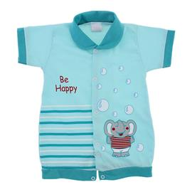 Macac�o Curto Beb� Bee Happy - 9823
