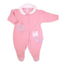 Macacão Longo para Bebê Bicho Molhado - Cod. 7401