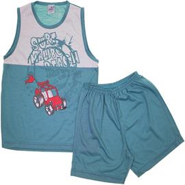 Pijama Infantil - Regata e Shorts - Izi Dreams - cod.6063