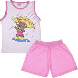 Pijama Infantil Menina Ted