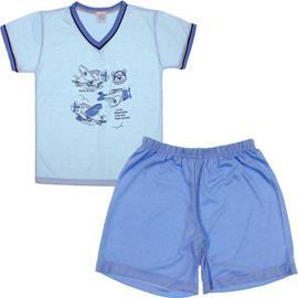 Pijama Infantil - Menino - Shorts e Camiseta - cod. 6728