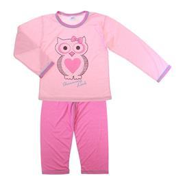 Pijama Infantil de Menina Meia Estação Corujinha 5852
