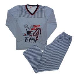 Pijama Juvenil Masculino Longo Basket - 8958