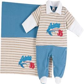 Saída de Maternidade Menino Leão Melão 6570