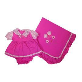 Saida de Maternidade Vestido Pink 7400