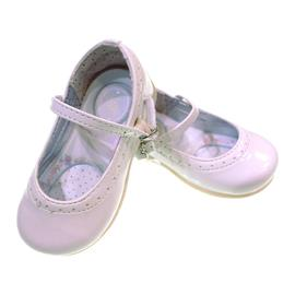 Sapatinho de Verniz para Bebê Kidy Palmilha Medidora 7092