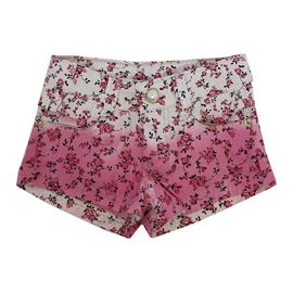 Shorts Floral em Sarja - Cód. 7730