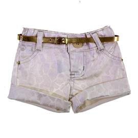 Shorts Infantil de Sarja Girafa 8610