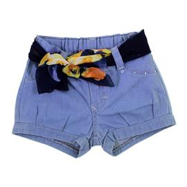 Shorts Jeans Para Menina 8619