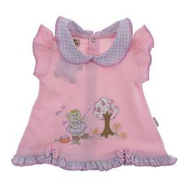 Vestido de Beb� Rosa Xadrez 9757