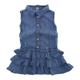 Vestido Jeans Infantil Charm - 8988