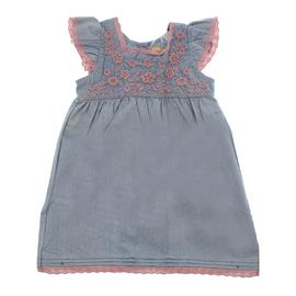 Vestido em Chambray Infantil - Cod. 8119