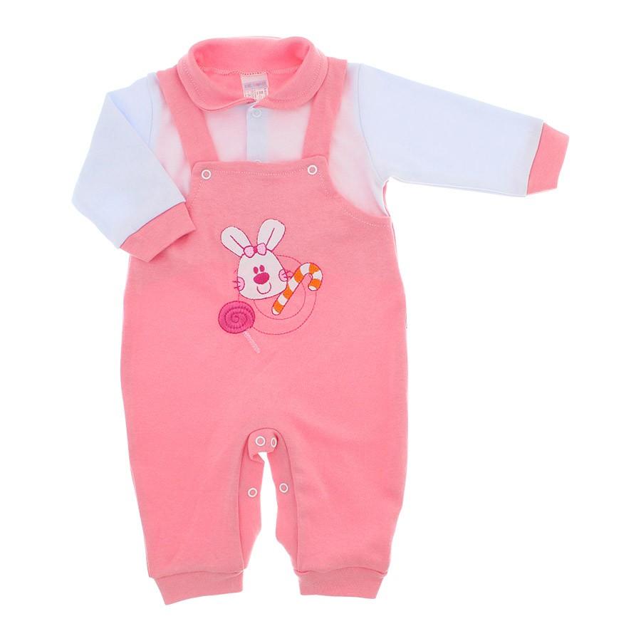 Macac o beb jardineira feminino de malha sugar 9945 for Jardineira bebe 1 ano