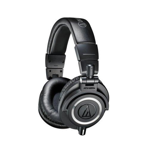 Fone de cabeça profissional para monitoramento | ATH-M50x | Audio Technica