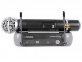 Imagem - Sistema de microfone sem fio com bastão de mão | K581B | Kadosh - K581B