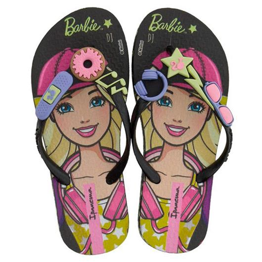 Chinelo Infantil Barbie Profissões 26016