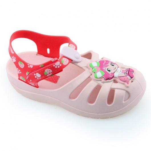 Sandália Infantil Moranguinho Jelly Fruit Baby 21479