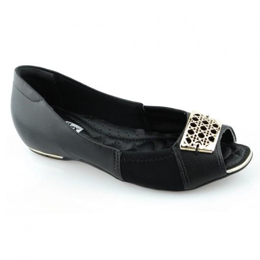 Sapatilha Peep Toe Comfort Flex 1676405