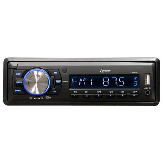 Autorrádio FM USB, Cartão SD, MP3 e Auxiliar AD2601 Lenoxx