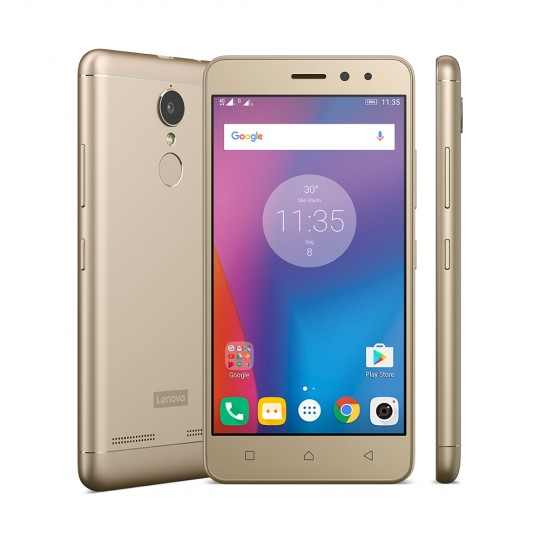 Smartphone Lenovo Vibe K6 Dourado