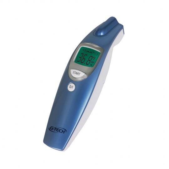 Termômetro Digital Clínico de Testa Sem Contato G-Tech THGTSC1 Azul