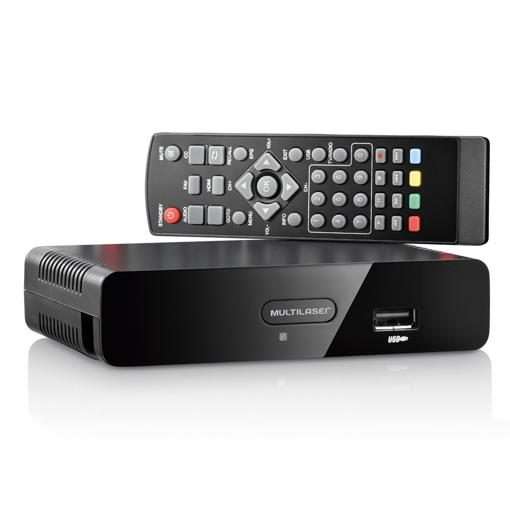 Conversor De Tv Digital RE207 Multilaser