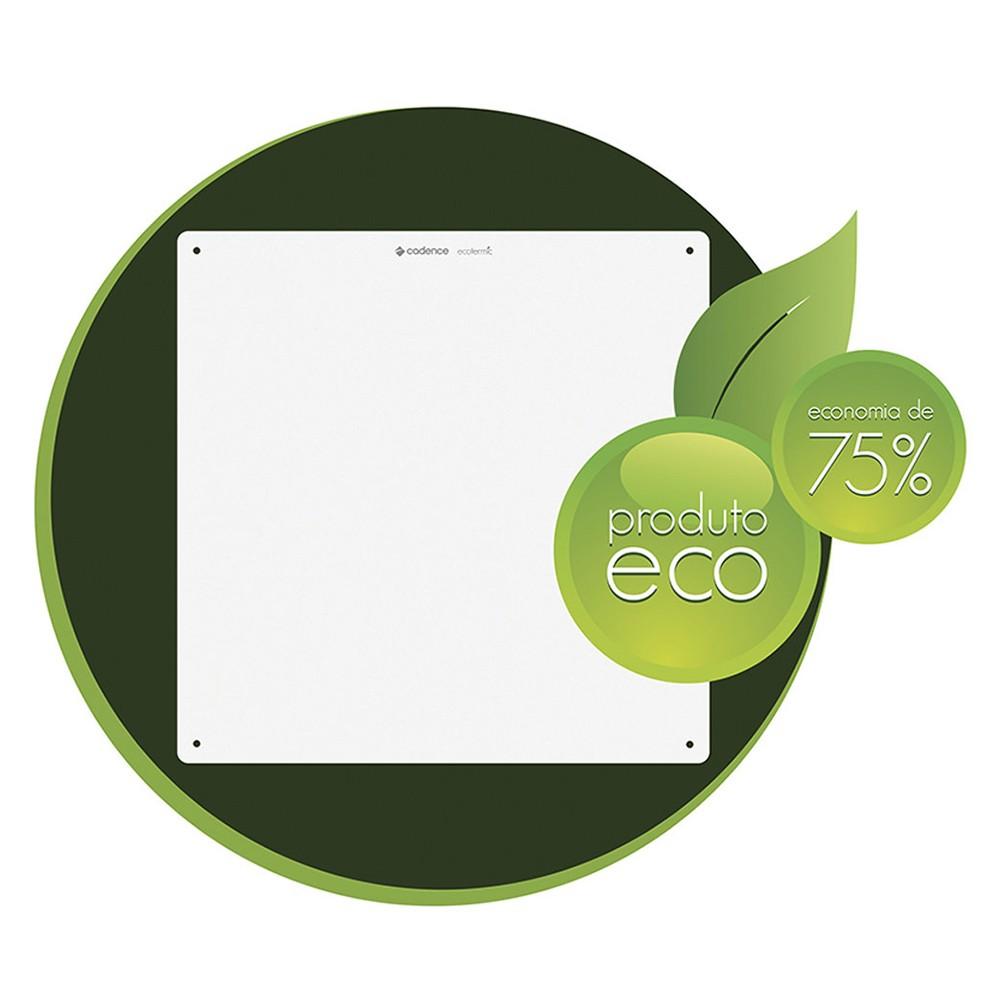 Aquecedor Ecológico de Painel Ecotermic Branco AQC700 127V Cadence