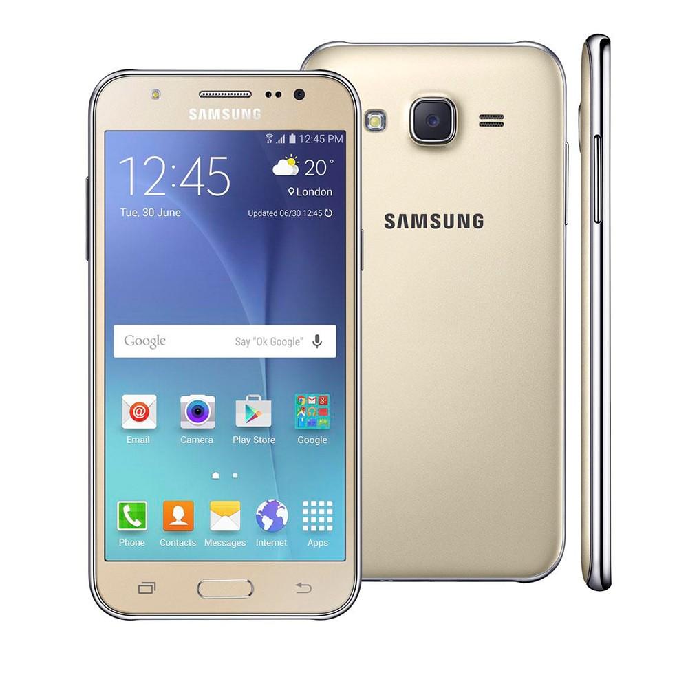 Imagem - Smartphone Samsung Galaxy J5 Dourado Duos