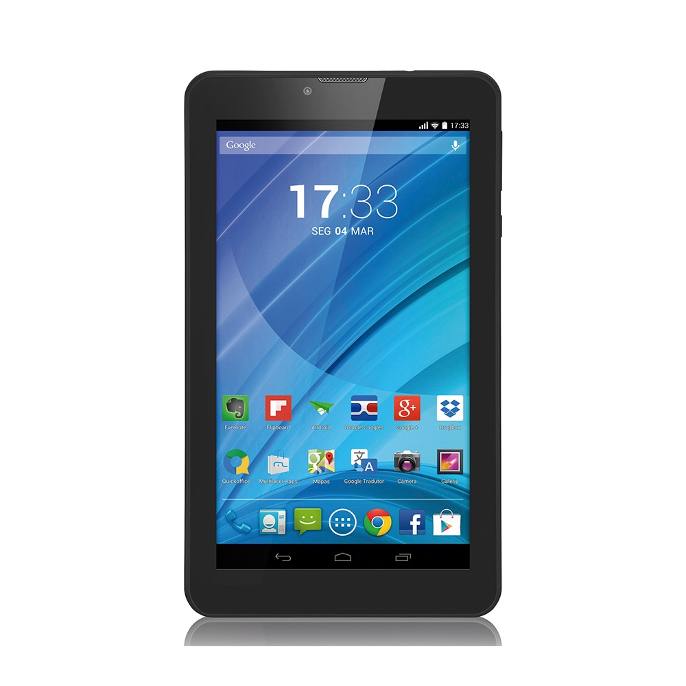 Tablet Multilaser M7 3G Quad-Core NB223 Preto