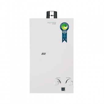 Aquecedor de Água a Gás Natural Exaustão Forçada 20 Litros BIV KO 20F GN Branco Komeco