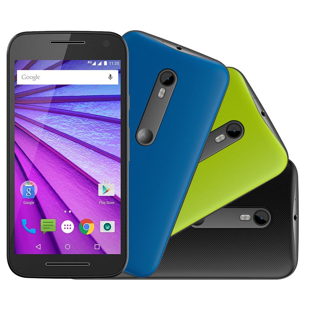 Imagem - Smartphone Motorola Moto G 3� Gera��o Colors HDTV XT1544 Preto 16GB