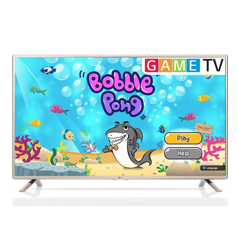 TV LED 32 HD LG 32LF565B com Time Machine Ready Game TV
