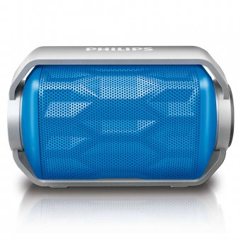 Caixa de Som Portátil Philips BT2200 wireless via Bluetooth Azul