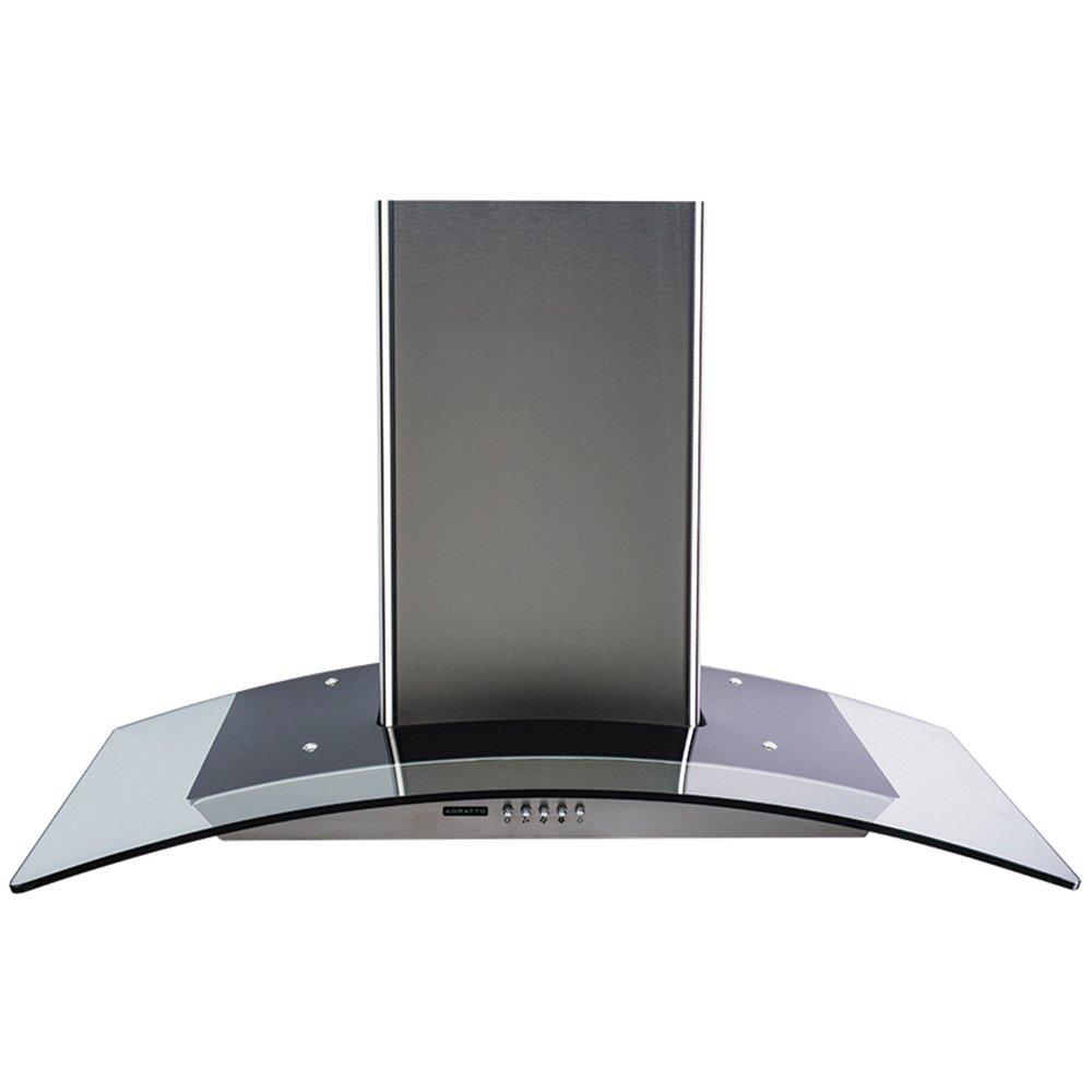 Coifa de Parede Inox e Vidro Agratto 90cm CPV90 220V