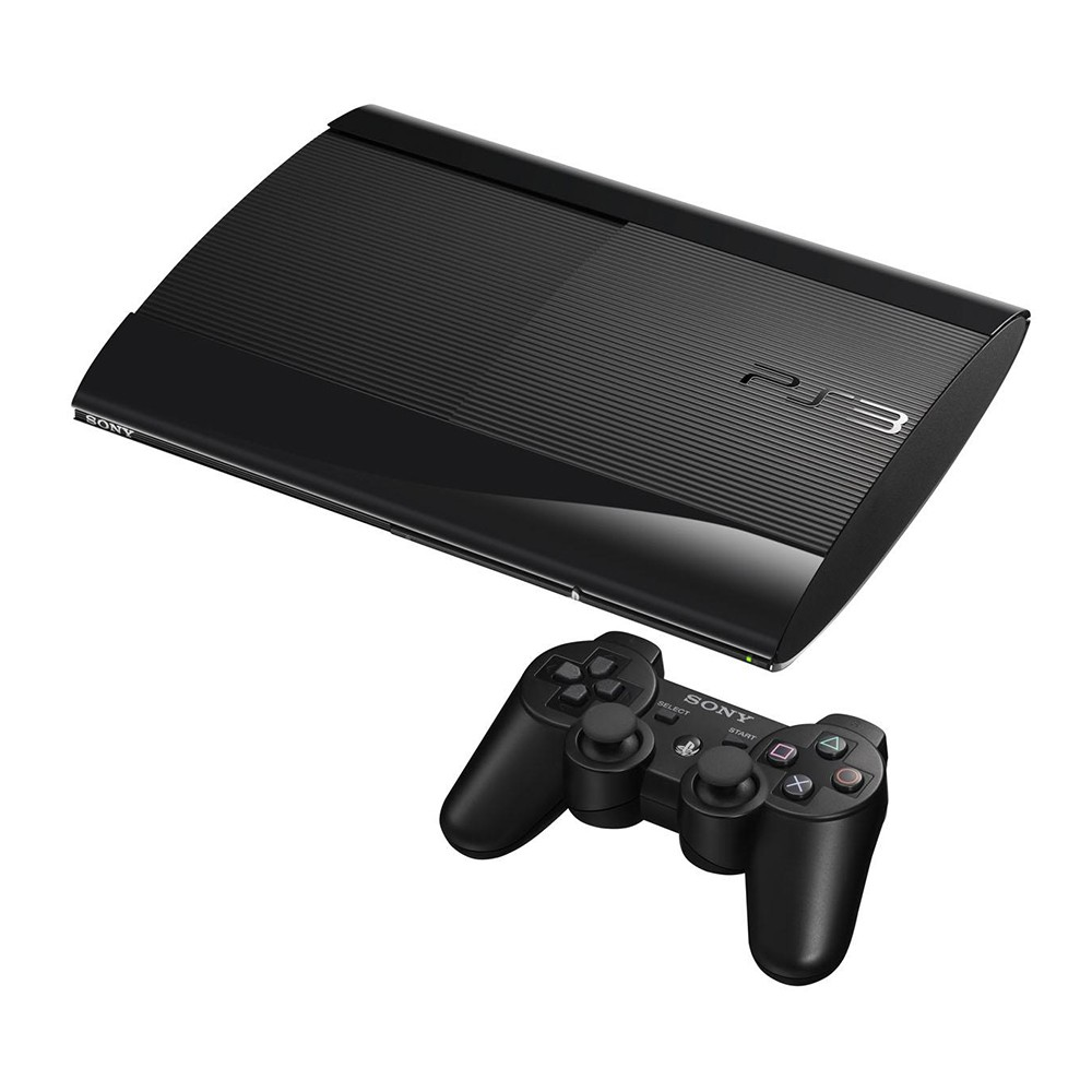 Console Playstation 3 Slim 500GB + Controle Dual Shock 3 Sony PS3