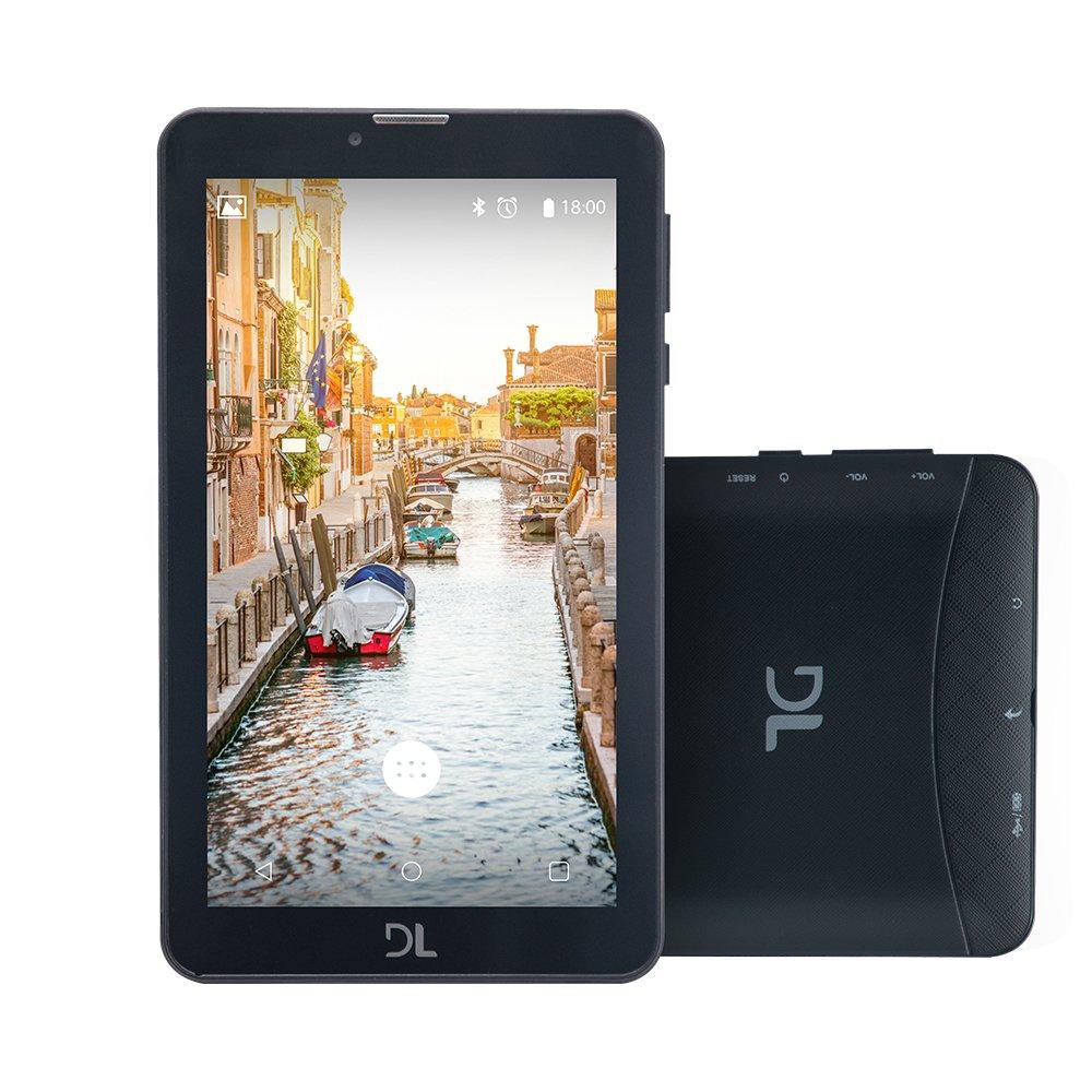 Imagem - Tablet DL Mobi Tela 7'' 3G Preto TX384 Dual Chip