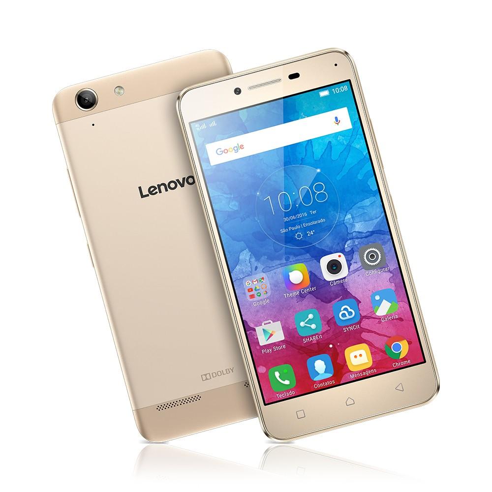 Imagem - Smartphone Lenovo Vibe K5 Dourado