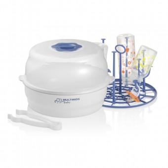 Esterilizador A Vapor para Micro-ondas Clean & Dry Multikids Baby BB170 Multilaser