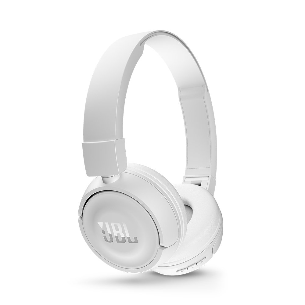 Fone de Ouvido Bluetooth JBL Branco T450BT