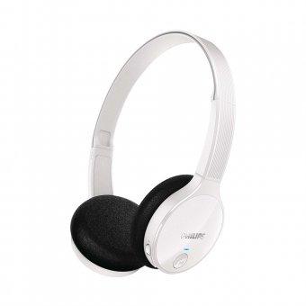 Fone de Ouvido Headphone Philips Bluetooth SHB4000WT Branco