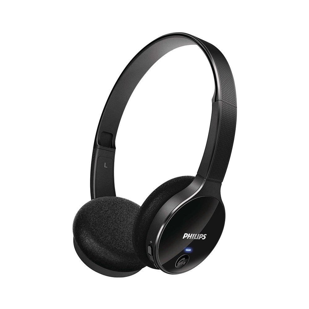 Fone de Ouvido Headphone Philips Bluetooth SHB4000WT Preto