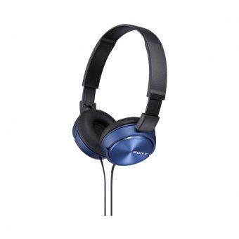 Fone de Ouvido Sony Headphone com Microfone integrado MDR-ZX310AP Azul
